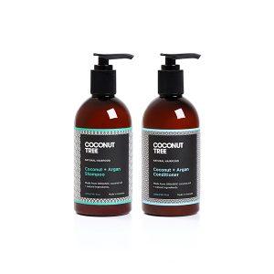 Coconut & Argan Shampoo & Conditioner Bundle