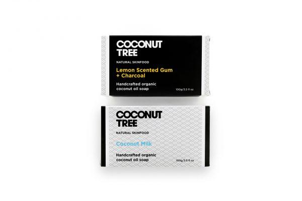 Coconut soap duo